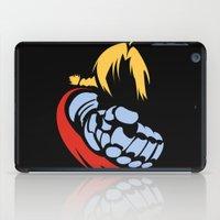 fullmetal iPad Cases featuring Minimal Edward  by jpmdesign