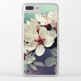 Cherry Blossom, Cherryblossom, Sakura, Vintage Style Clear iPhone Case
