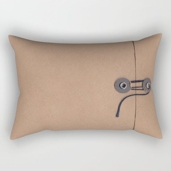 Camo Series - kraft envelope Rectangular Pillow