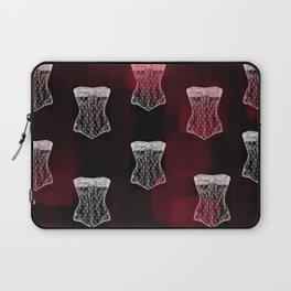 Corset pattern Laptop Sleeve