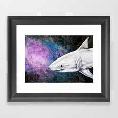 Great White Shark II Framed Art Print
