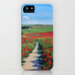 Walk with me iPhone Case