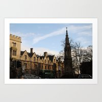 Oxford, England Art Print