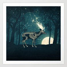 The Forest of the Lost Souls Art Print