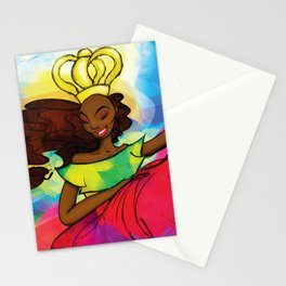 Reina Congo - Congo Queen Stationery Cards