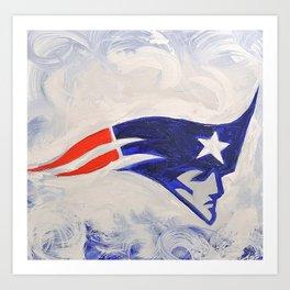 The patriots  Art Print