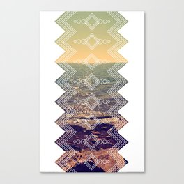 Feel the sunshine Canvas Print