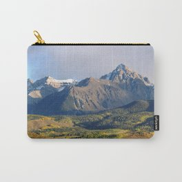 Evening light on The Sneffels Range Carry-All Pouch