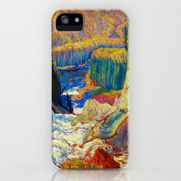 J.E.H. MacDonald Falls, Montreal River iPhone Case