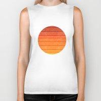 sunrise Biker Tanks featuring Sunrise by Diogo Verissimo