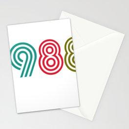 Vintage 1988 birthday birthday idea 30 years Stationery Cards