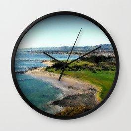 Fossil Bluff - Tasmania - Australia Wall Clock