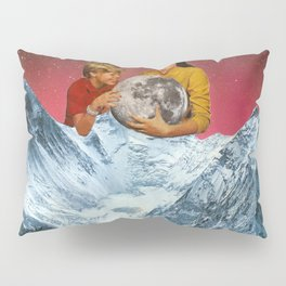 We captured the moon. Pillow Sham