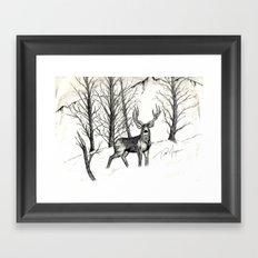 Ink Pen 3 Framed Art Print
