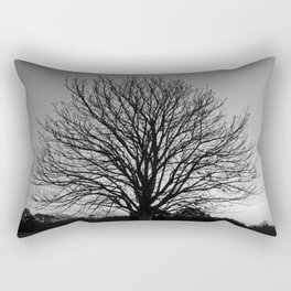 richmond park- b-w Rectangular Pillow