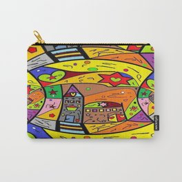 Chaos City by Nico Bielow Carry-All Pouch
