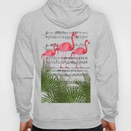 Flamingo dance Hoody
