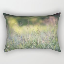 As the evening fades away Rectangular Pillow