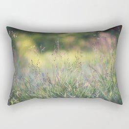 As the evening fades away Rectangular Pillow