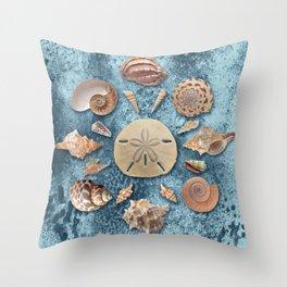 Seashells collection #1 Throw Pillow