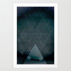 illuminate me night Art Print