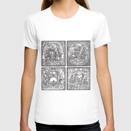 Depositing the Horns - Initiation Ritual T-shirt