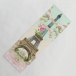 Bonjour Paris Yoga Mat