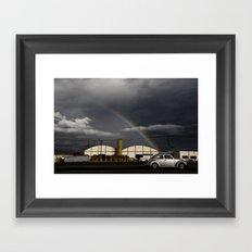 Rainyroads Framed Art Print