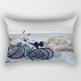 Captiva Island Bikes by Ocean Rectangular Pillow