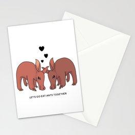 Flirty Aardvarks Stationery Cards