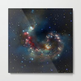 Galactic Spectacle Metal Print