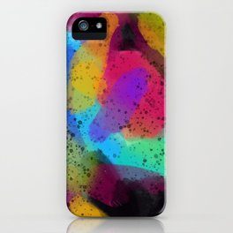 Who even are you? iPhone Case