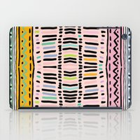 navajo iPad Cases featuring NAVAJO MOTIF  by Vasare Nar