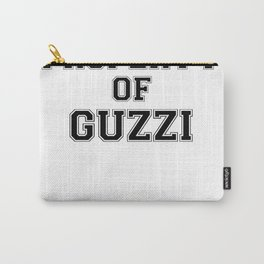 Property of GUZZI Carry-All Pouch