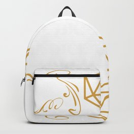 D20 Dice Giveth and Taketh Away Funny Nerdy Hoodie Backpack