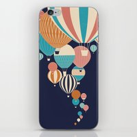 balloons iPhone & iPod Skins featuring Balloons by Jay Fleck