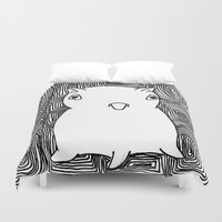 dumbo Duvet Covers featuring Dumbo Octopus by Indigo K