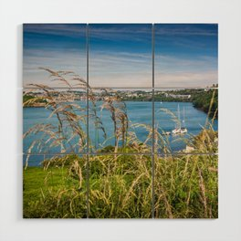 View of Kinsale, Ireland from Summer Cove Wood Wall Art