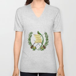 cost of arms of Guatemala Unisex V-Neck