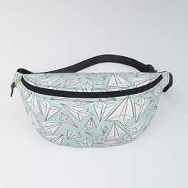 Paper Airplanes Mint Fanny Pack