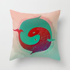 Year of the fish Throw Pillow