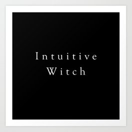 Intuitive Witch Art Print