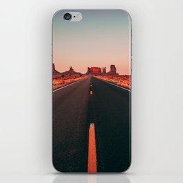 Lost highway iPhone Skin