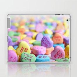 Valentine's Day Candy Hearts Laptop & iPad Skin