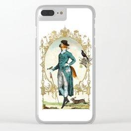 Mr Fox Clear iPhone Case