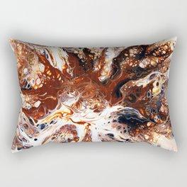 Deconstructed Caramel Sundae Rectangular Pillow