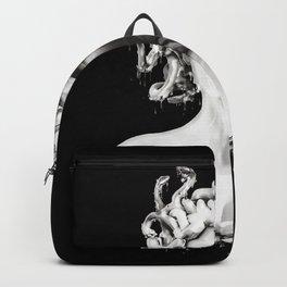 Silver Medusa Backpack