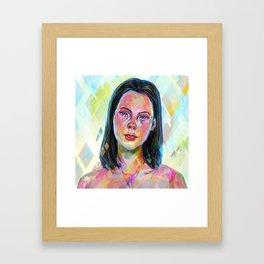 Saint shape Framed Art Print