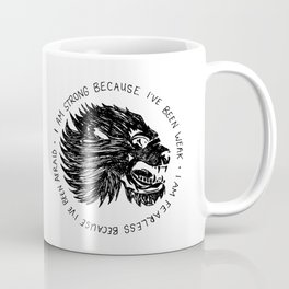 Strong and Fearless Coffee Mug