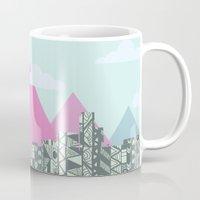 denver Mugs featuring denver by marney cinclair